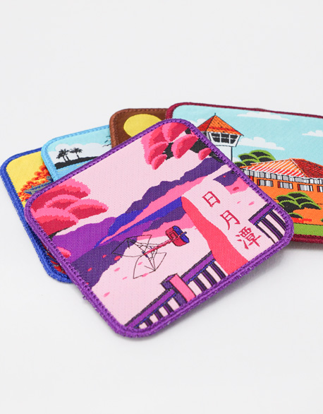 Electric Embroidery Coaster (Taiwan attractions)