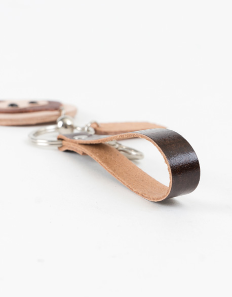 Monkey Leather Lock Ring