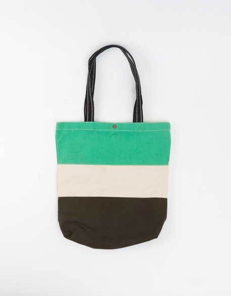 Three-color shoulder bag