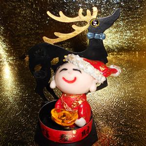 New Year's Merchandise ~ Hand Christmas Fortune ~ Elk ~zina 000083