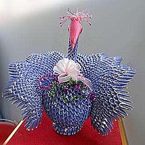 Peacock Origami 08~zina 000850