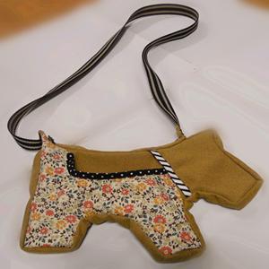 Dog style Messenger bag ~Zina 000853