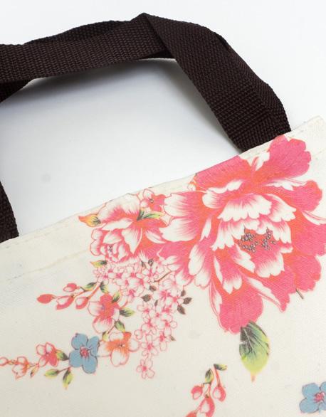 Simple small handbag-Hakka flower