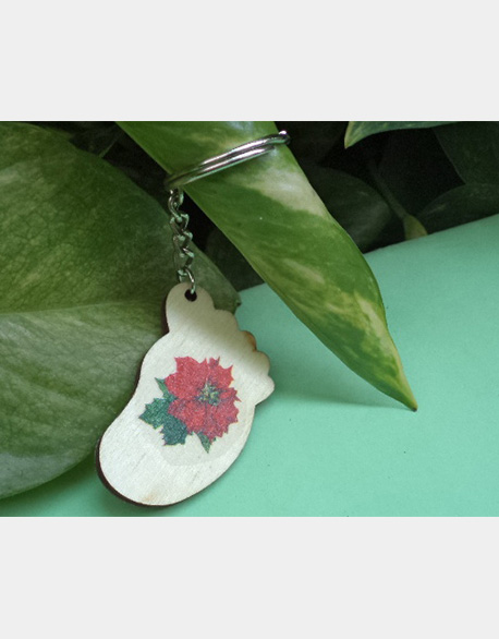 Butterfly Gubat-Merry Christmas foot gallons key ring (promotional price 50)
