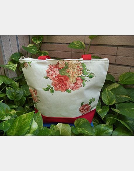 Butterfly Gubat Creative Canvas bag-beautiful Rose