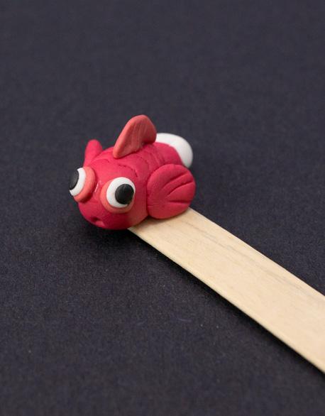 Goldfish designs bookmarks