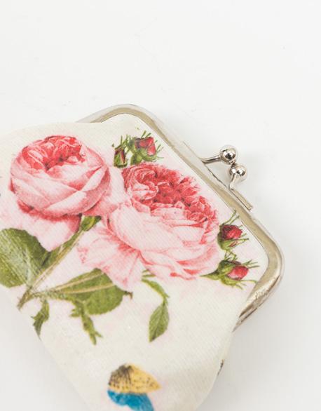 Rose Mouth Gold Bag