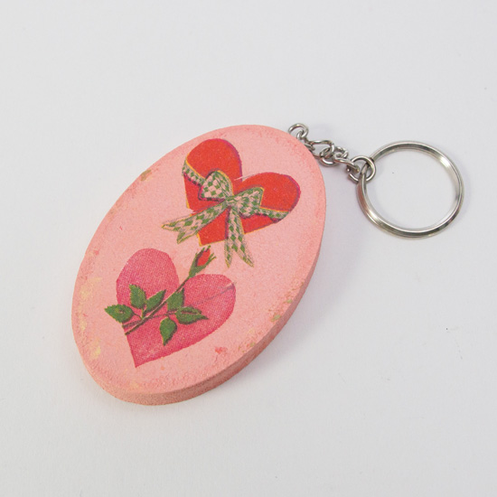 Butterfly mojitos Key Ring
