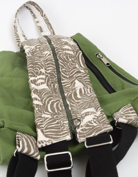 Side-Side open smile backpack
