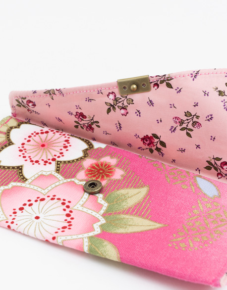 Cotton and hemp Red envelope bag