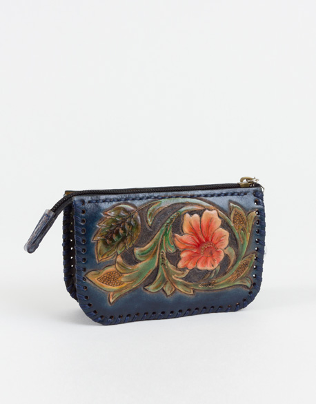Leather Carving Wallet