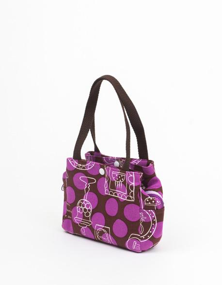 Three-storey handbag