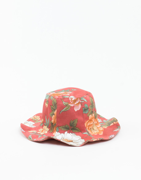 Six lotus leaf double sided hat