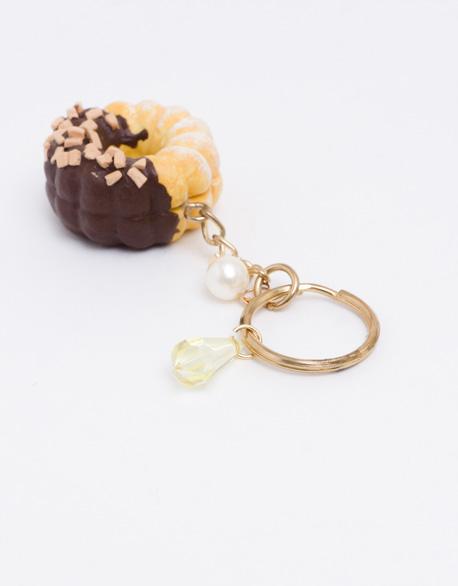 Doughnut shape Key Ring
