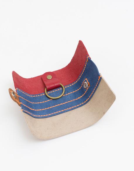 Hand-sewn key bag