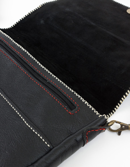 Soft Leather Oblique backpack