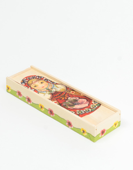 Russian Doll Pencil Box